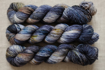 strength - merino singles -  hand dyed yarn 4ply fingering - 100g