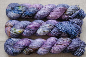 courage - merino singles -  hand dyed yarn 4ply fingering - 100g