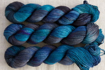 subterranean - merino singles - 4ply fingering hand dyed yarn - 100g