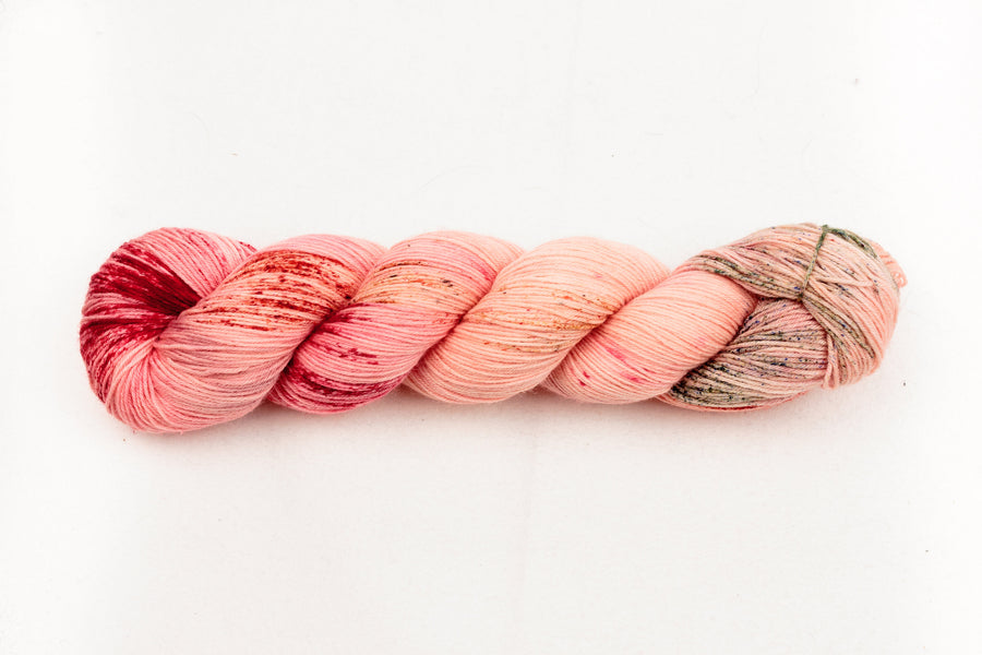 bellini - sock blend - hand dyed merino yarn fingering 4ply - 100g