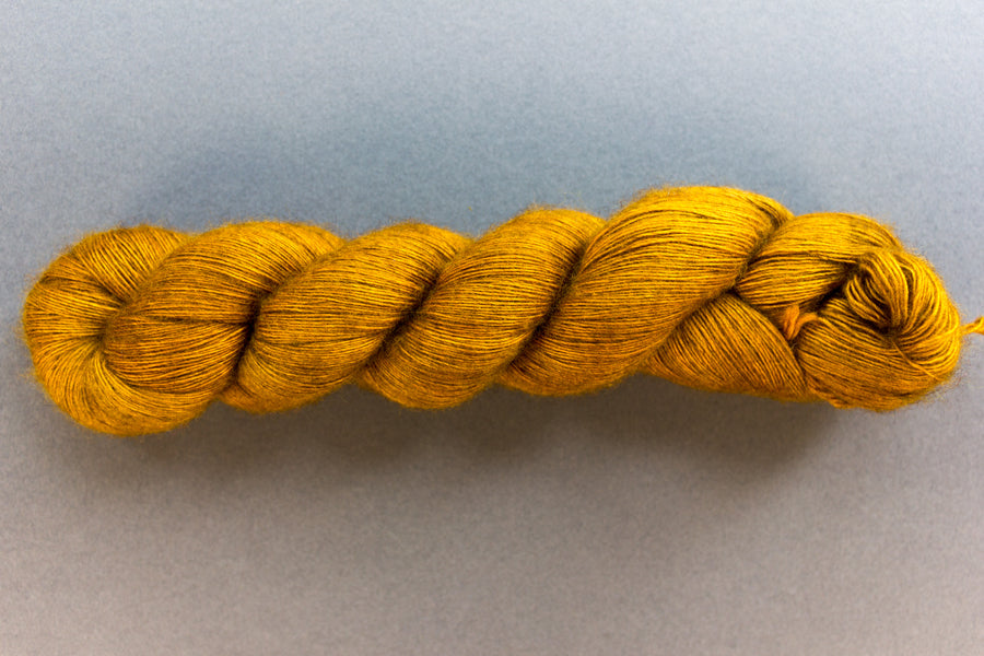penny - yak lace - single ply hand dyed lace yarn - 100g