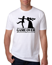 Load image into Gallery viewer, Game Over Bachelor paryt t-shirt