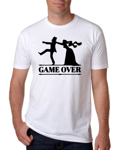 Game Over Bachelor paryt t-shirt
