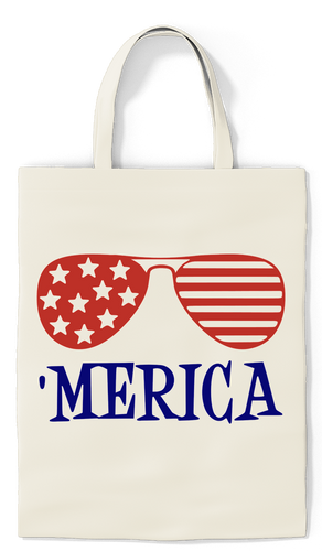 'Merica Tote - Paradise Candles & Gifts