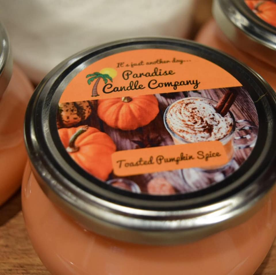 Toasted Pumpkin Spice - Paradise Candles & Gifts