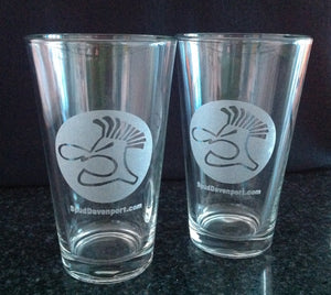 Spud Logo Pint Glass