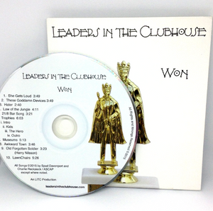 Won - by Leaders In The Clubhouse - CD