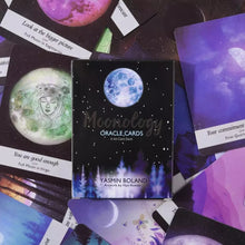 Load image into Gallery viewer, Moonology Oracle Cards By Yasmin Boland
