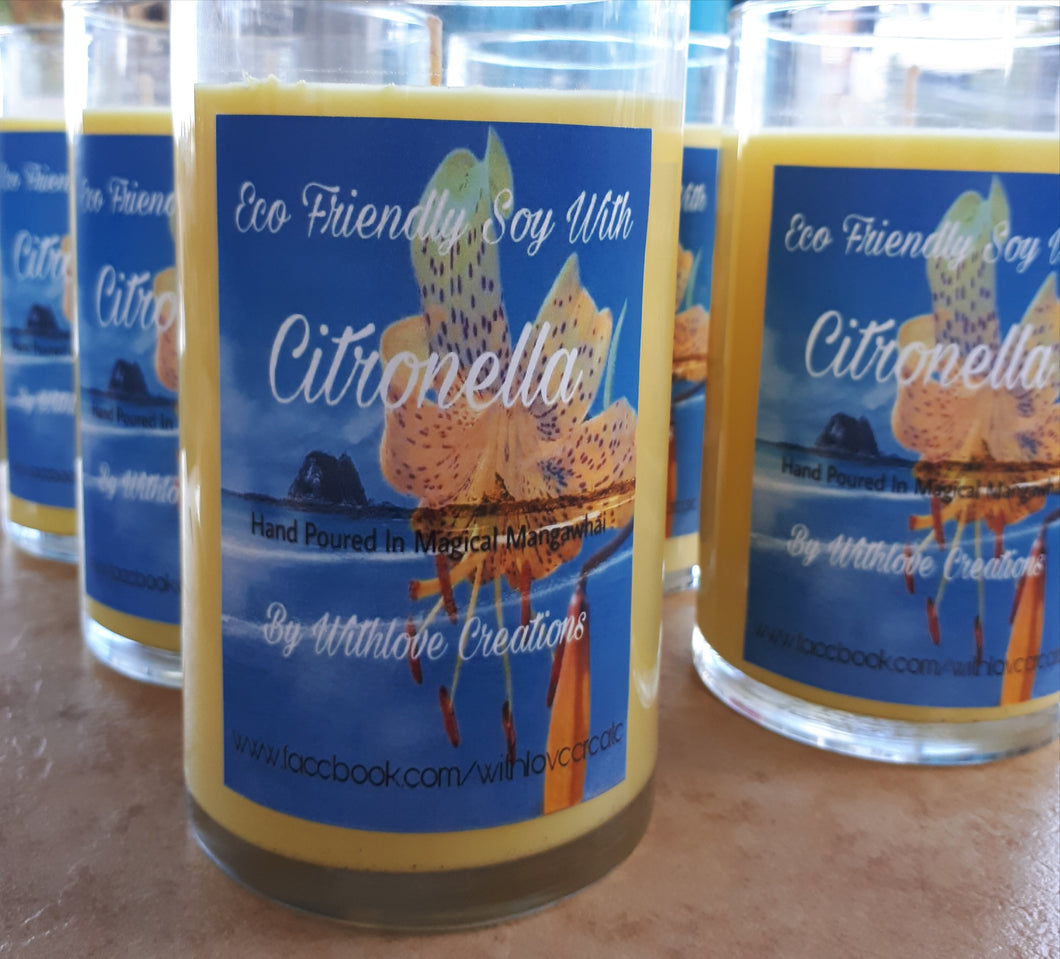 No More Bugs & Citronella Soy Candles