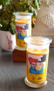 "Motivation Candle ""Get your shit together"""