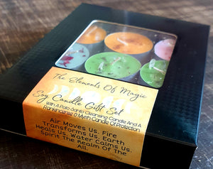 The Elements Of Magic 'Tea Light' Gift Set