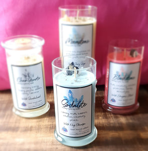 Cleansing Crystal Soy Candle Range