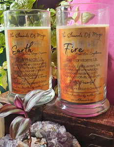 The Elements Of Magic Soy Candle Range