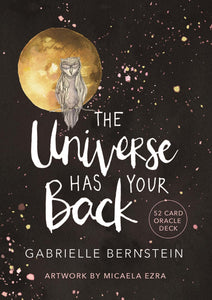 The Universe Has Your Back Affirmation Oracle Cards𝓑𝓪𝓬𝓴 𝓲𝓷 𝓼𝓽𝓸𝓬𝓴 𝓼𝓸𝓸𝓷