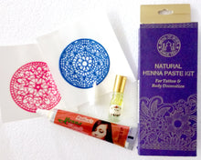 Load image into Gallery viewer, Natural Henna Kit