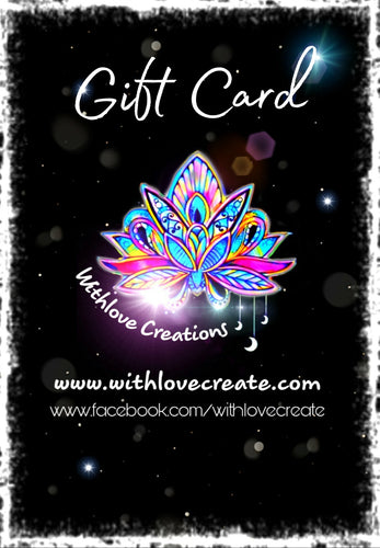 Withlove Creations Gift Card