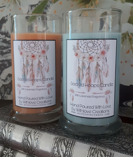 Sacred Hoops Soy Candle