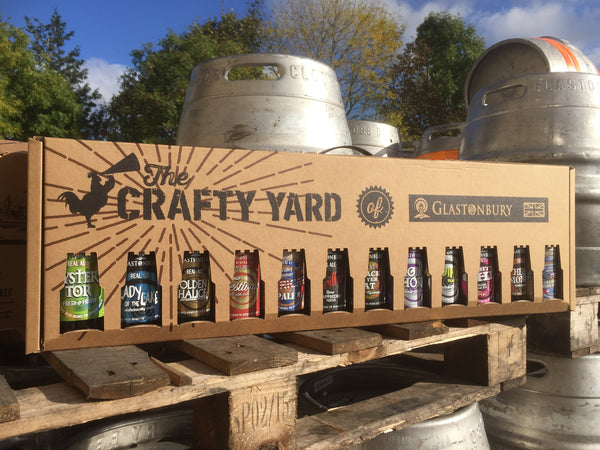 CRAFTY YARD OF GLASTONBURY ALE