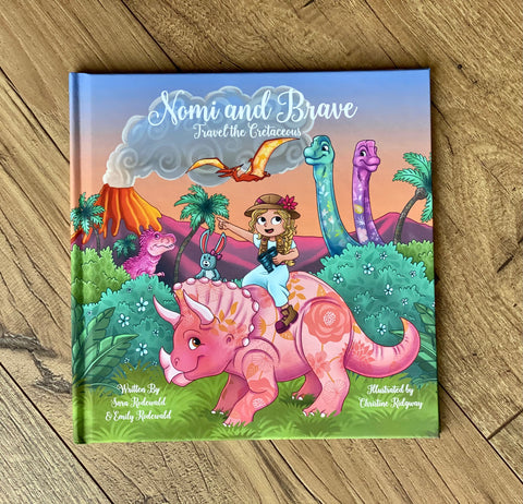 "Children's Book: ""Nomi & Brave Travel the Cretaceous"""
