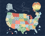 Art Print: Jake & Scout Travel America