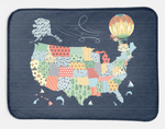 Minky Snuggle Blanket: Jake & Scout Travel America