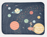 Minky Snuggle Blanket: Jake & Scout Travel the Universe