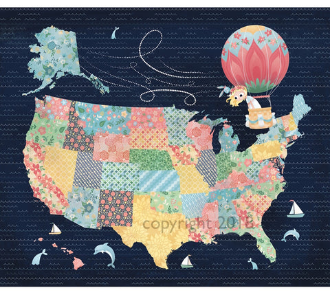 Art Print: Nomi & Brave Travel America