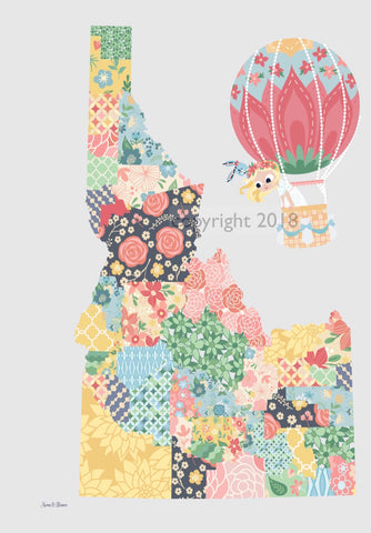 Art Print: STATE Maps - PICK YOUR STATE! - Nomi & Brave Travel America
