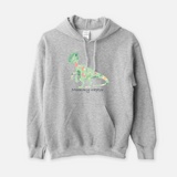 Dinosaur Mom Hooded Sweatshirt (Unisex)