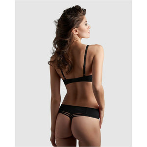 Dame De Paris Black Thong 7 cm - Style Gallery