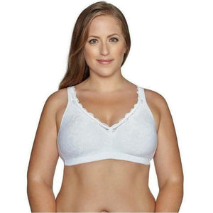 Back Closure Bra With Comfort Lining - Style Gallery