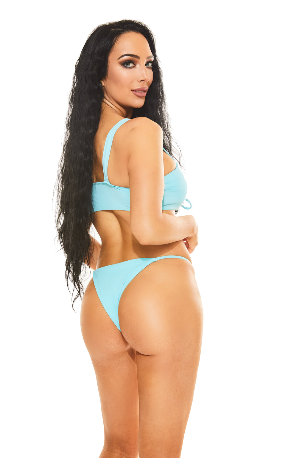 PRINCESS JASMINE LACE-UP Bikini - www.prettyboutique.com