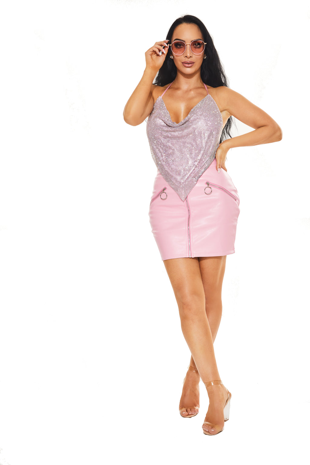 BARBIE DREAMS - Diamante top - www.prettyboutique.com