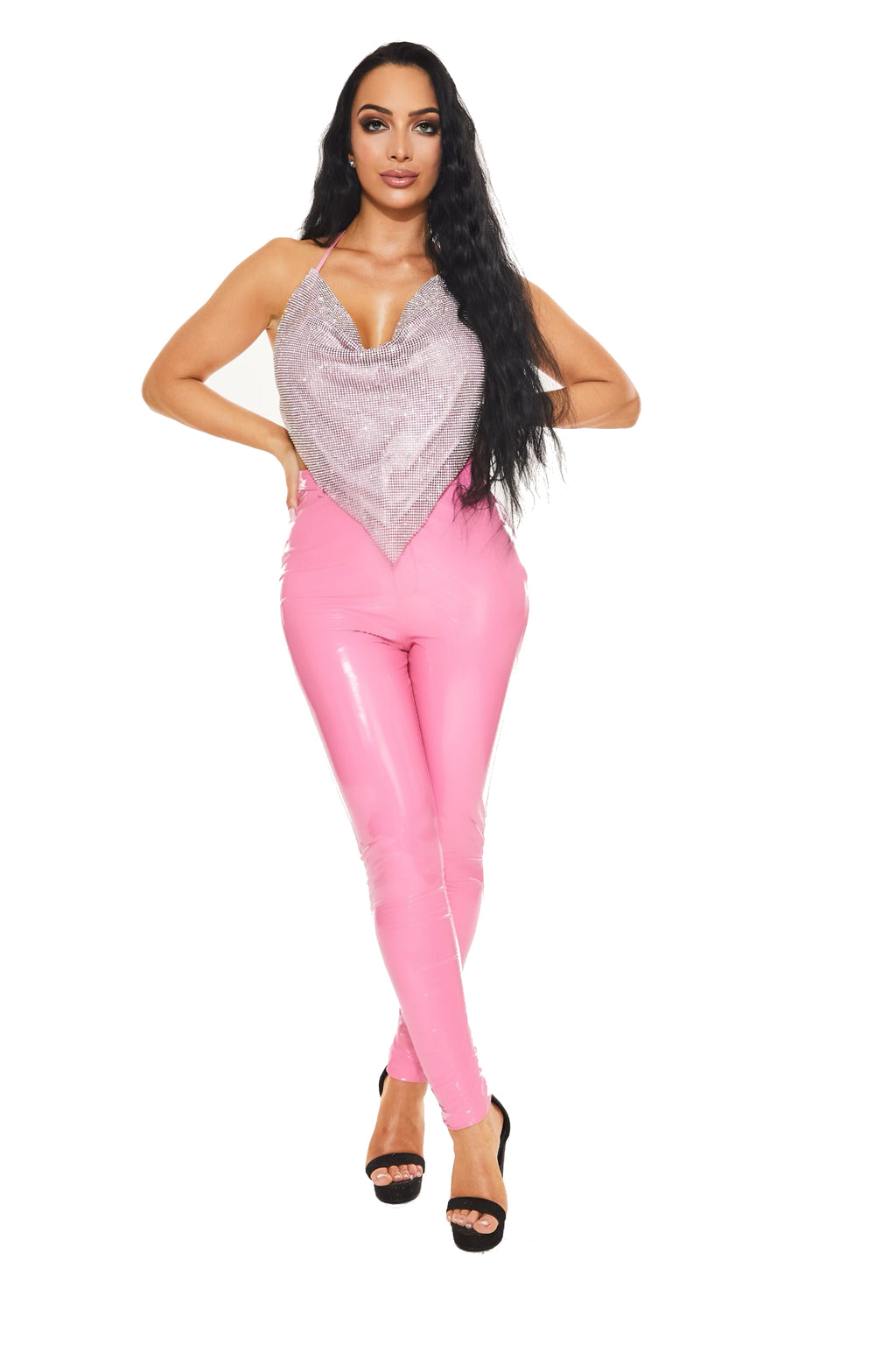 BUBBLE GUM - Latex pants - www.prettyboutique.com