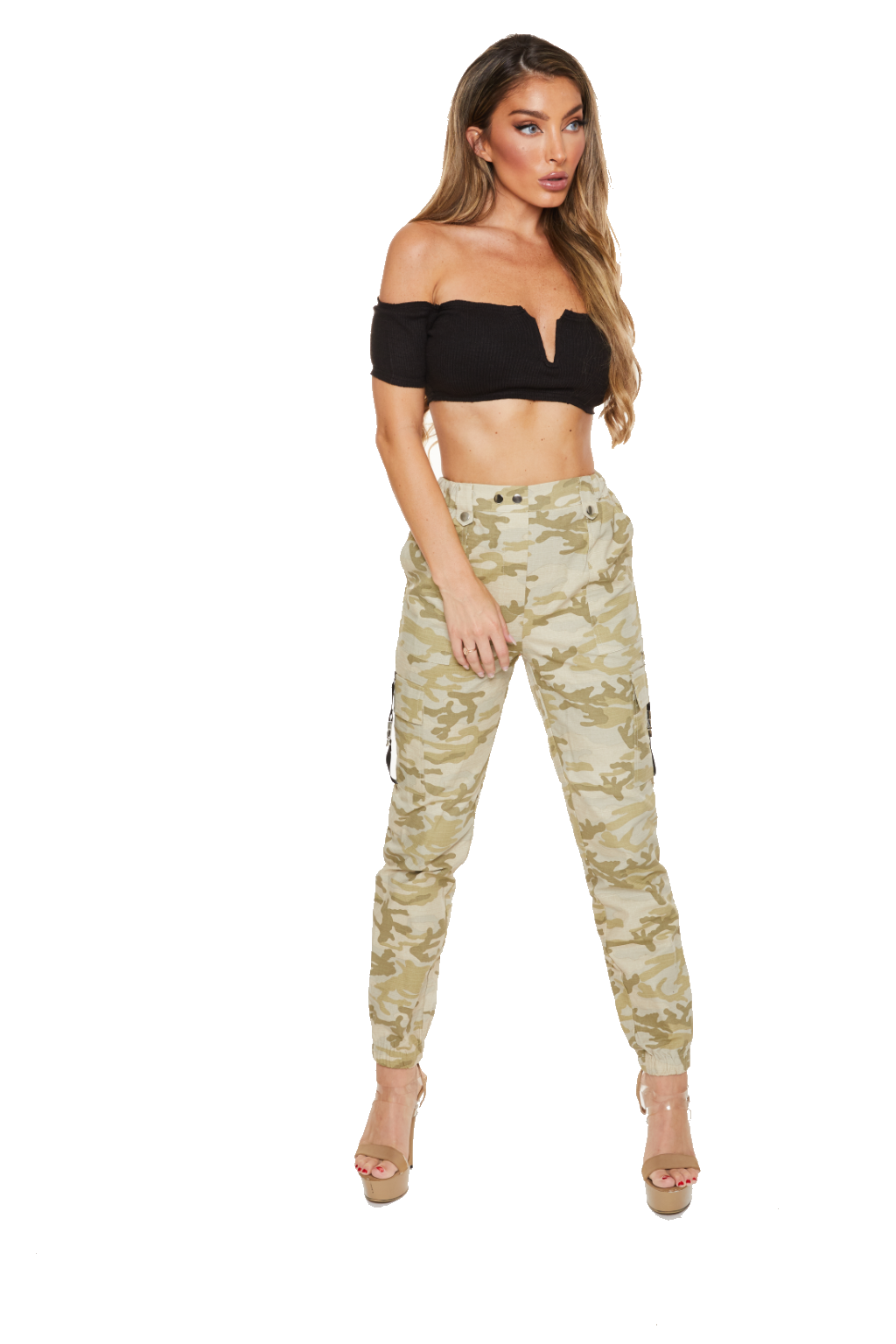 DIGITAL COMBAT - Army Pants - www.prettyboutique.com