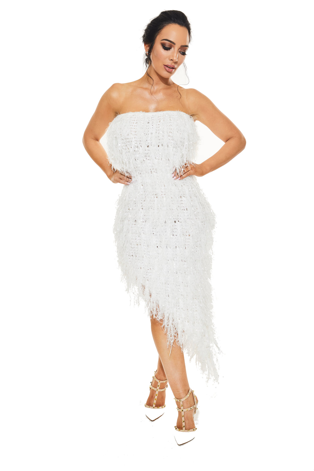 RIRI TUBE DRESS - Fluffy - www.prettyboutique.com