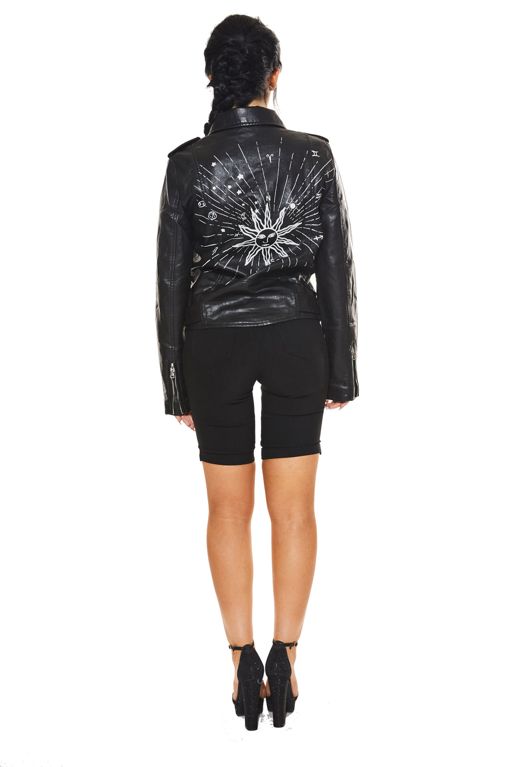 DEAD OR LIT?! - Leather Jacket - www.prettyboutique.com