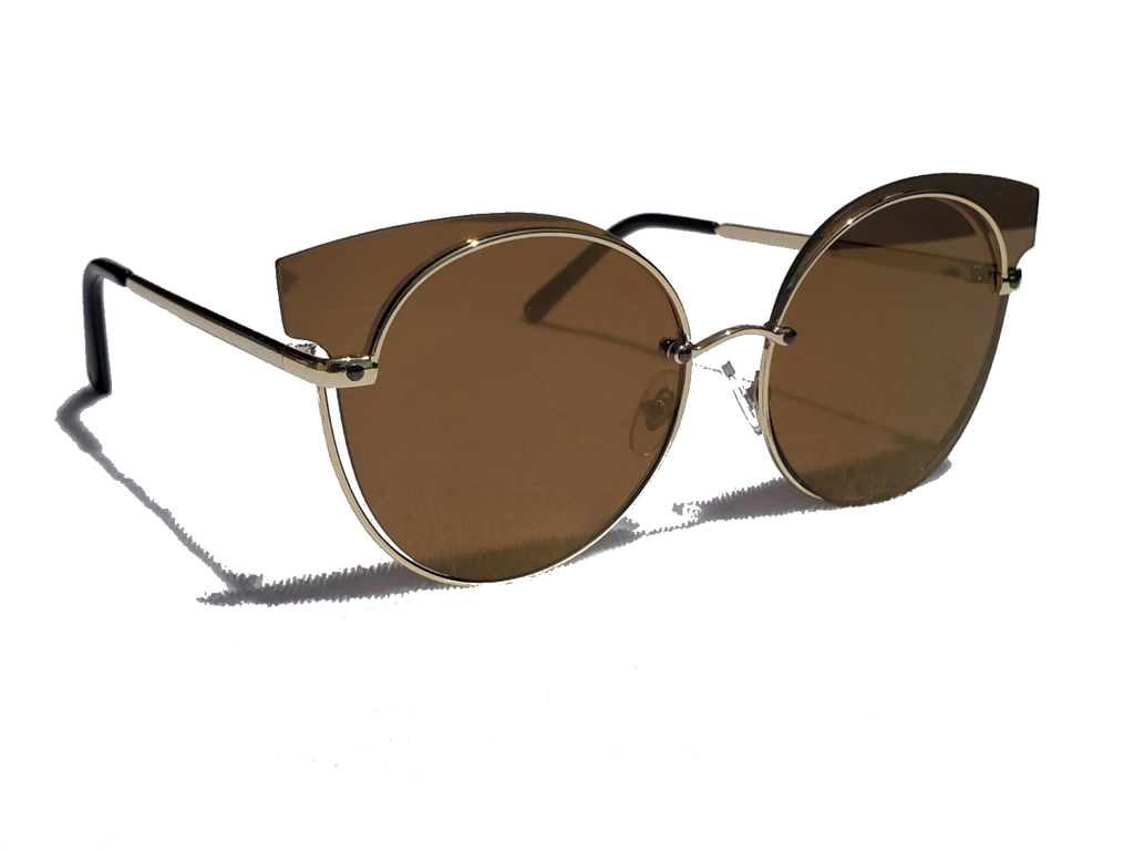 Cat To Know Me - Sunglasses - Brown - www.prettyboutique.com