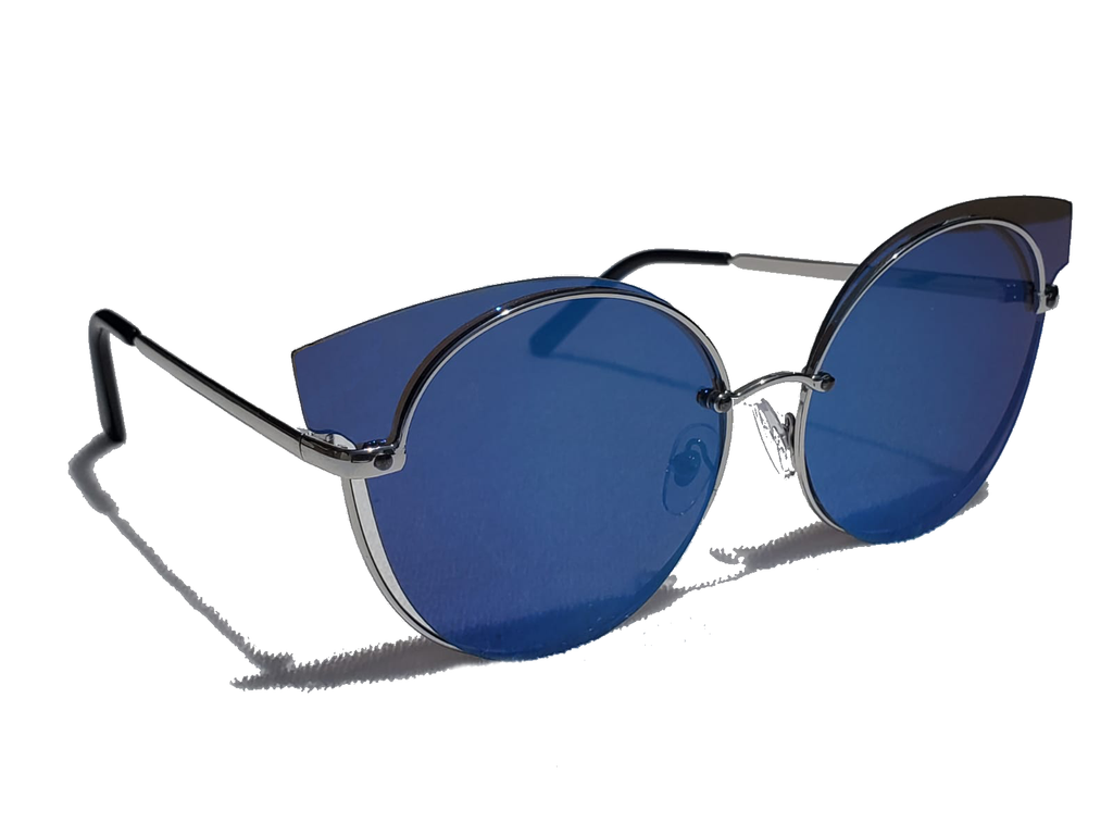 Cat To Know Me - Sunglasses - Blue - www.prettyboutique.com