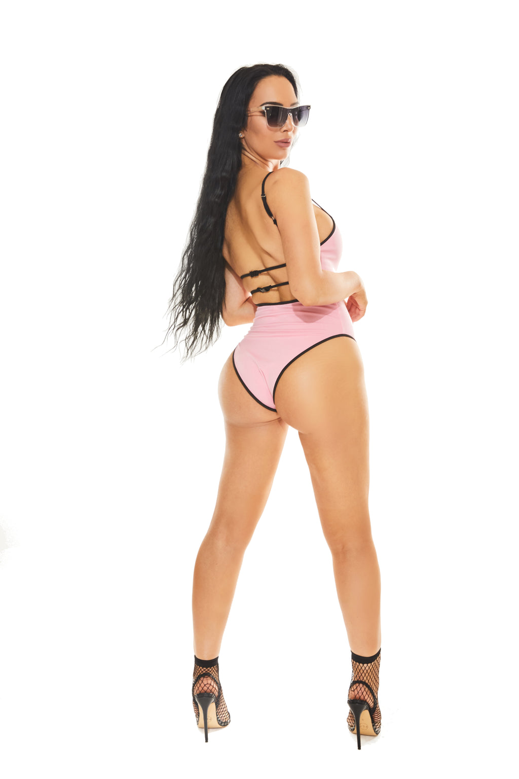 KENDALL BODYSUIT - Pink - www.prettyboutique.com