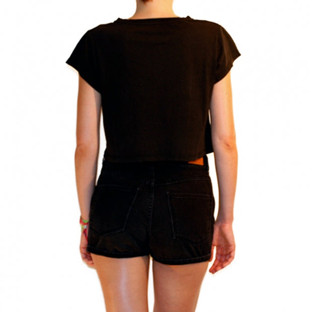 Denim Black Short