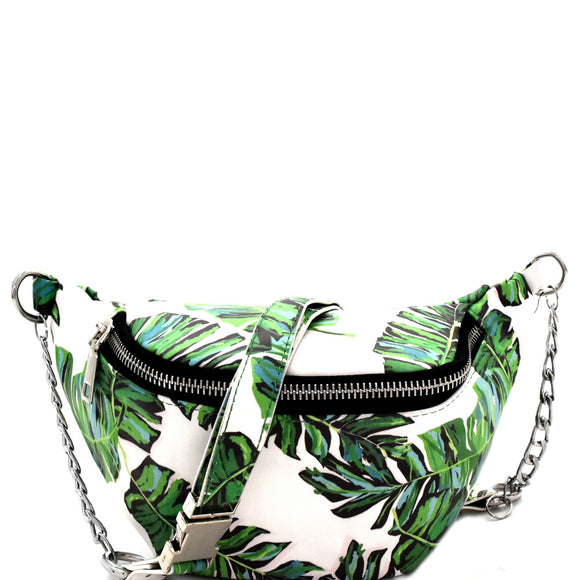 Tropical Fanny Pack (Chain Strap)