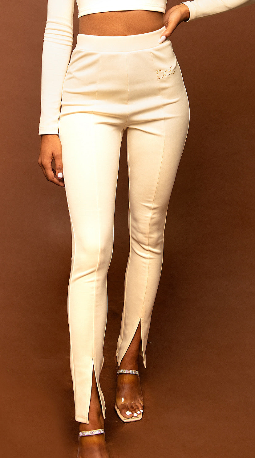 Ava Set Pants- Cream