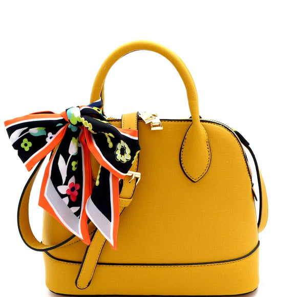 Beverly Scarf Accent Satchel
