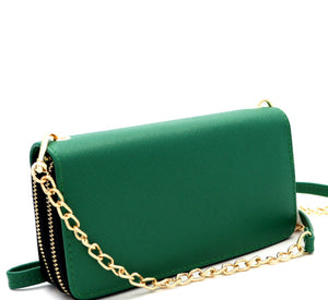 Emerald Crossbody Wallet