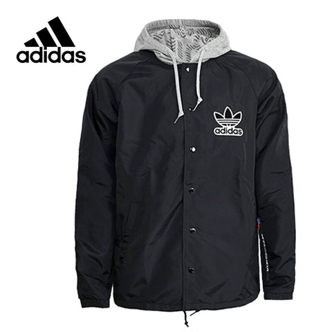 f06dd5275caa Original New Arrival Official Adidas Windbreaker NY Men s jacket Hooded  Sportswear BQ0905