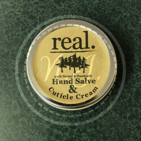 real. Hand Salve & Cuticle Cream
