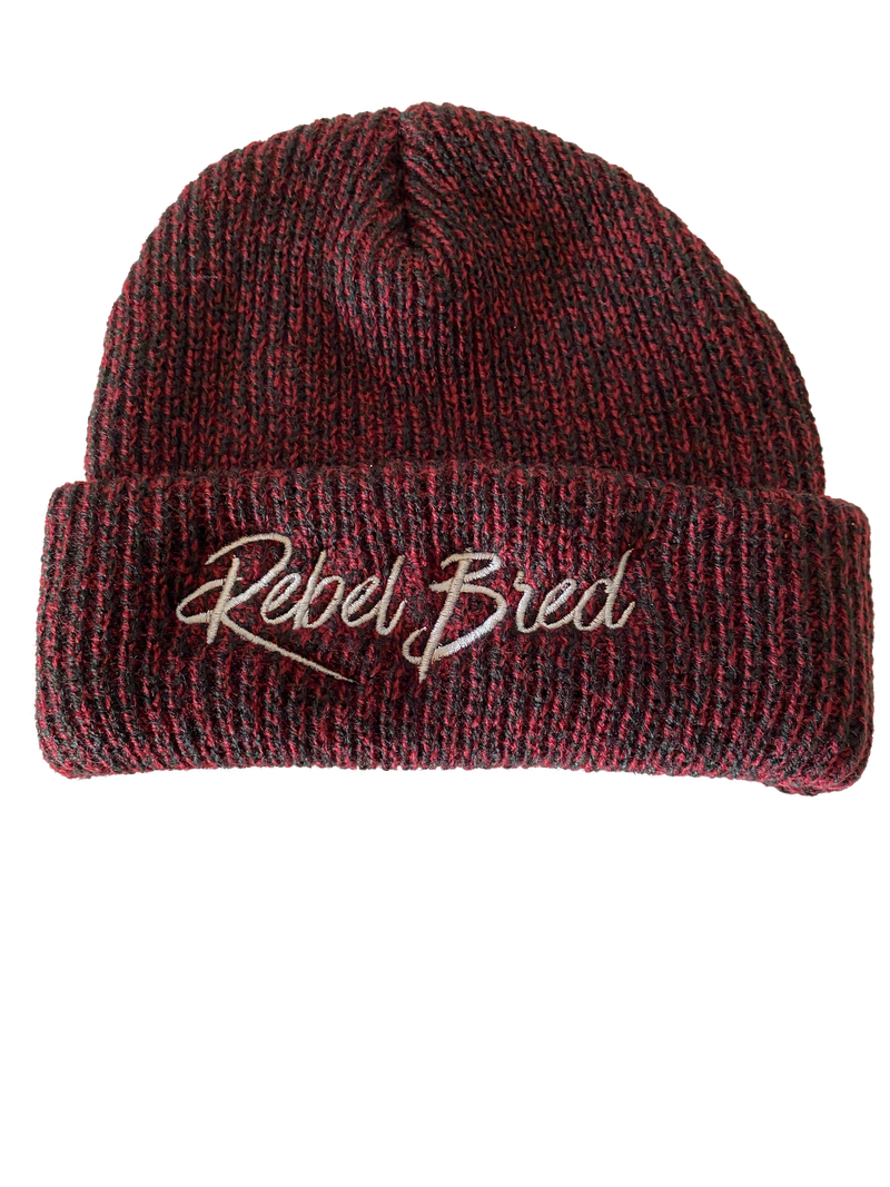 Embroidered Mixed Beanie
