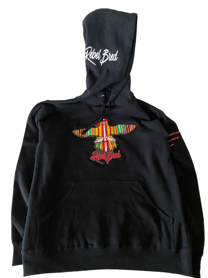 """Transatlantic"" Embroidered Black History Month Hoodie"