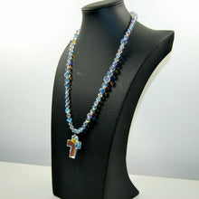 Stushlery Swarovski Cross Necklace
